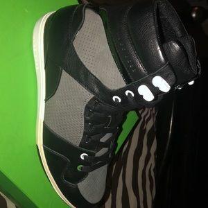 Hugo Boss Morningside 1- Mens Black high top shoes